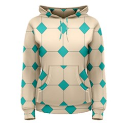 Tile Pattern Wallpaper Background Women s Pullover Hoodie