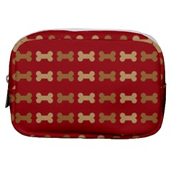 Dog Bone Background Dog Bone Pet Make Up Pouch (small) by Jojostore