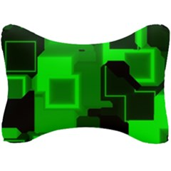 Cyber Glow Seat Head Rest Cushion by Jojostore