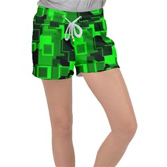 Cyber Glow Women s Velour Lounge Shorts