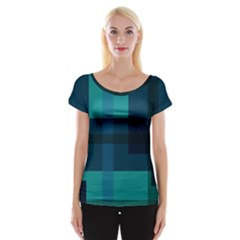 This High Quality Image Is A Bunch Of Different Size Boxes That Are Place Abstractly Cap Sleeve Top