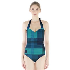 This High Quality Image Is A Bunch Of Different Size Boxes That Are Place Abstractly Halter Swimsuit
