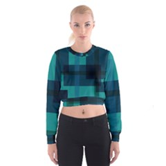 This High Quality Image Is A Bunch Of Different Size Boxes That Are Place Abstractly Cropped Sweatshirt