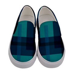 This High Quality Image Is A Bunch Of Different Size Boxes That Are Place Abstractly Women s Canvas Slip Ons
