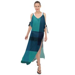 This High Quality Image Is A Bunch Of Different Size Boxes That Are Place Abstractly Maxi Chiffon Cover Up Dress