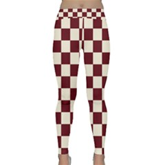 Pattern Background Texture Classic Yoga Leggings