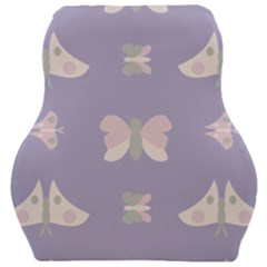 Butterfly Butterflies Merry Girls Car Seat Velour Cushion