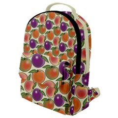 Fruit Tree Salad Pattern Flap Pocket Backpack (small)