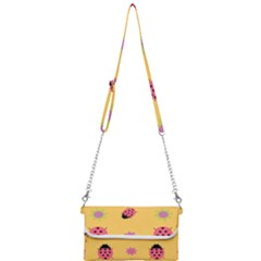 Ladybug Seamlessly Pattern Mini Crossbody Handbag by Sapixe