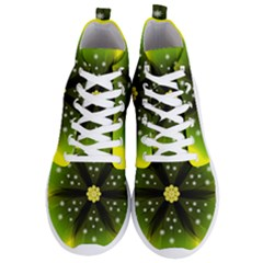Christmas Flower Nature Plant Men s Lightweight High Top Sneakers