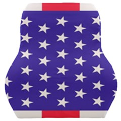 Day Independence July Background Car Seat Back Cushion  by Sapixe