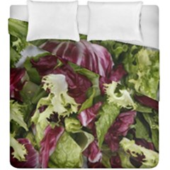 Salad Lettuce Vegetable Duvet Cover Double Side (king Size) by Sapixe