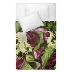 Salad Lettuce Vegetable Duvet Cover Double Side (single Size) by Sapixe