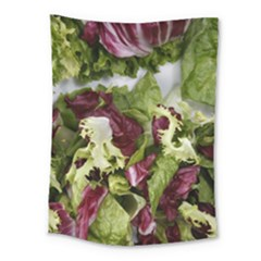 Salad Lettuce Vegetable Medium Tapestry by Sapixe