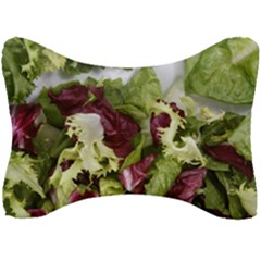 Salad Lettuce Vegetable Seat Head Rest Cushion by Sapixe