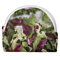 Salad Lettuce Vegetable Horseshoe Style Canvas Pouch by Sapixe