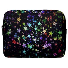 Christmas Star Gloss Lights Light Make Up Pouch (large) by Sapixe