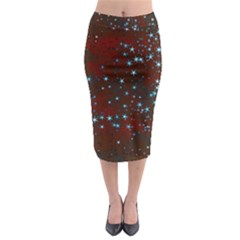 Background Christmas Decoration Midi Pencil Skirt