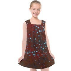 Background Christmas Decoration Kids  Cross Back Dress by Sapixe
