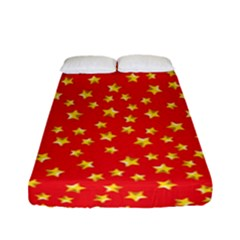 Pattern Stars Multi Color Fitted Sheet (full/ Double Size)