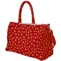 Pattern Stars Multi Color Duffel Travel Bag