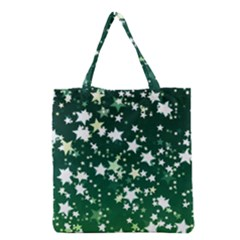 Christmas Star Advent Background Grocery Tote Bag by Sapixe