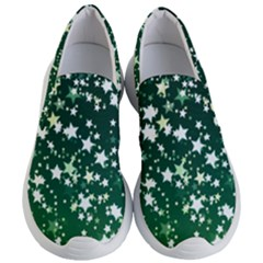 Christmas Star Advent Background Women s Lightweight Slip Ons