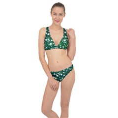 Christmas Star Advent Background Classic Banded Bikini Set