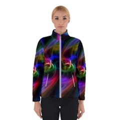 Abstract Art Color Design Lines Winter Jacket