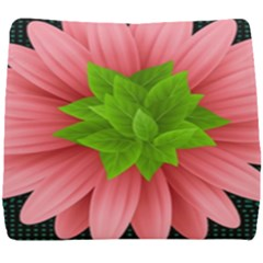 Plant Flower Flowers Design Leaves Seat Cushion by Sapixe