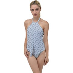 Sparkly Diamond Pattern Go With The Flow One Piece Swimsuit