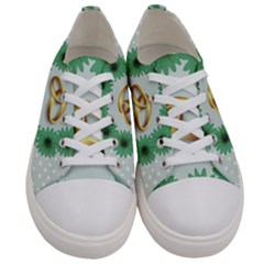 Rings Heart Love Wedding Before Women s Low Top Canvas Sneakers