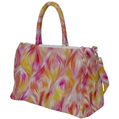 Pretty Painted Pattern Pastel Duffel Travel Bag