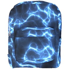 Electricity Blue Brightness Bright Full Print Backpack by Sapixe