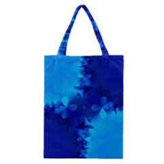 Background Course Gradient Blue Classic Tote Bag by Sapixe