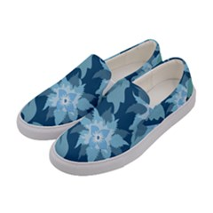 Graphic Design Wallpaper Abstract Women s Canvas Slip Ons by Sapixe