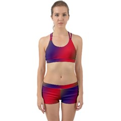 Rainbow Two Background Back Web Gym Set by Jojostore