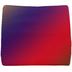 Rainbow Two Background Seat Cushion by Jojostore