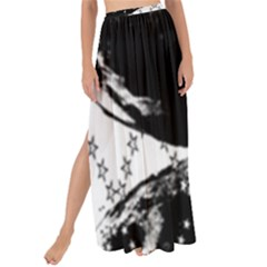 Moon And The Stars Pattern Maxi Chiffon Tie Up Sarong
