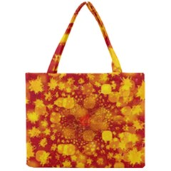 Christmas Star Advent Background Mini Tote Bag by Sapixe
