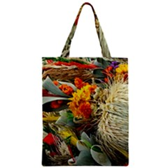 Flower Color Nature Plant Crafts Zipper Classic Tote Bag by Sapixe