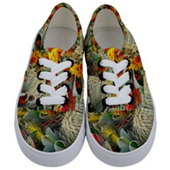 Flower Color Nature Plant Crafts Kids  Classic Low Top Sneakers
