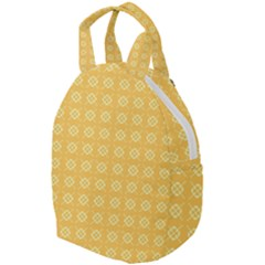 Pattern Background Texture Yellow Travel Backpacks by Sapixe