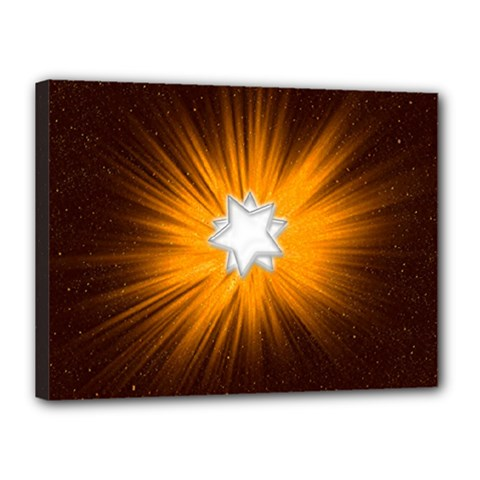 Star Universe Space Galaxy Cosmos Canvas 16  X 12  (stretched)