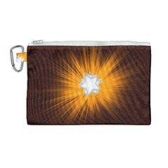 Star Universe Space Galaxy Cosmos Canvas Cosmetic Bag (large) by Sapixe