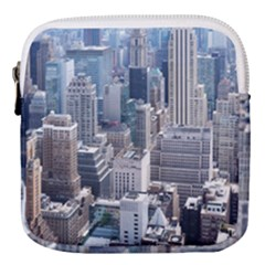 Manhattan New York City Mini Square Pouch by Sapixe