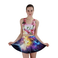 Colors Of The Planets Mini Skirt