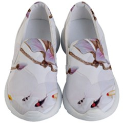 Fishes And Flowers Kid s Lightweight Slip Ons by burpdesignsA