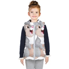 Bear Kid s Hooded Puffer Vest