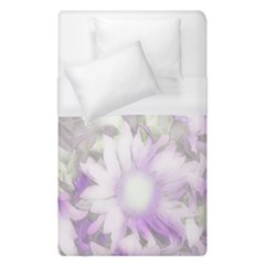 Romantic Pastel Floral,lilac Duvet Cover (single Size) by MoreColorsinLife